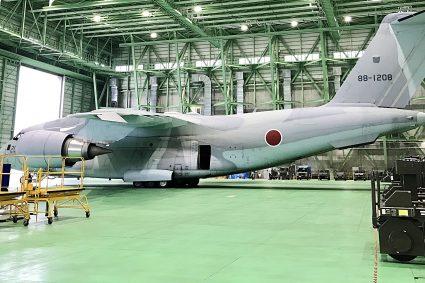 航空自衛隊 C-2輸送機 体験登場してきました。